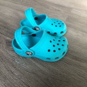 Crocs • Baby Kids Baby Blue Shoes